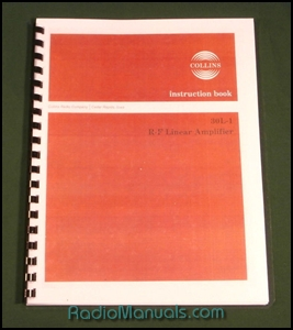 Collins 30L-1 Instruction Manual