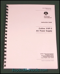 Collins 516F-2 Instruction Manual