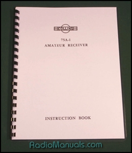 Collins 75A-1 Instruction Manual