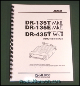 Alinco DR-135TMKII/435TMKII Instruction Manual