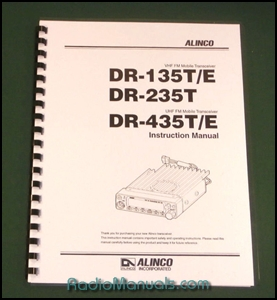 Alinco DR-135T/235T/435T Instruction Manual