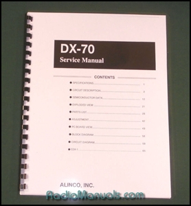 Alinco DX-70 Service Manual