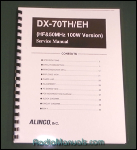 Alinco DX-70TH/EH Service Manual