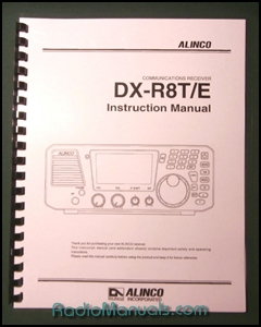 Alinco DX-R8T/E Instruction Manual