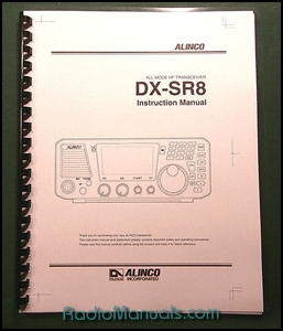 Alinco DX-SR8 Instruction Manual
