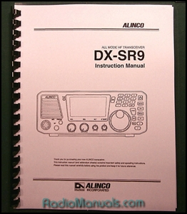 Alinco DX-SR9 Instruction Manual