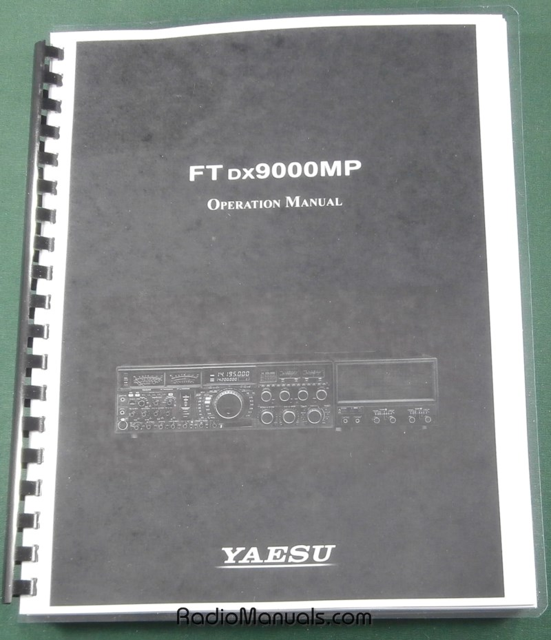 FTdx9000MP Operation Manual