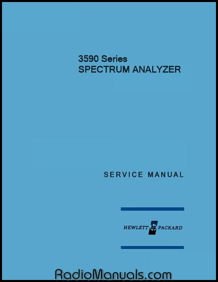 HP 3245A Operating & Programming Manual