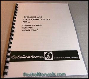 Hallicrafters SX-117 Operating Manual