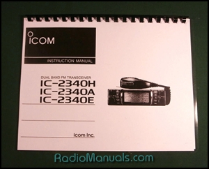 Icom IC-2340 Instruction Manual