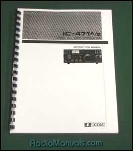Icom ic-271a ic-271e ic-271h ic-471a ic-471h ic-900 2400 820 821.