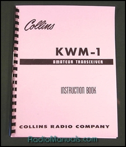 Collins KWM-1 Instruction manual