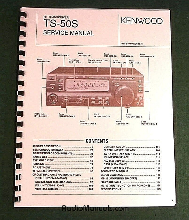 Kenwood TS-50S Service Manual