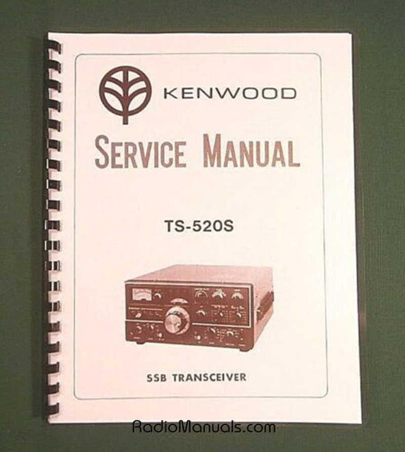 Kenwood TS-520S Service Manual