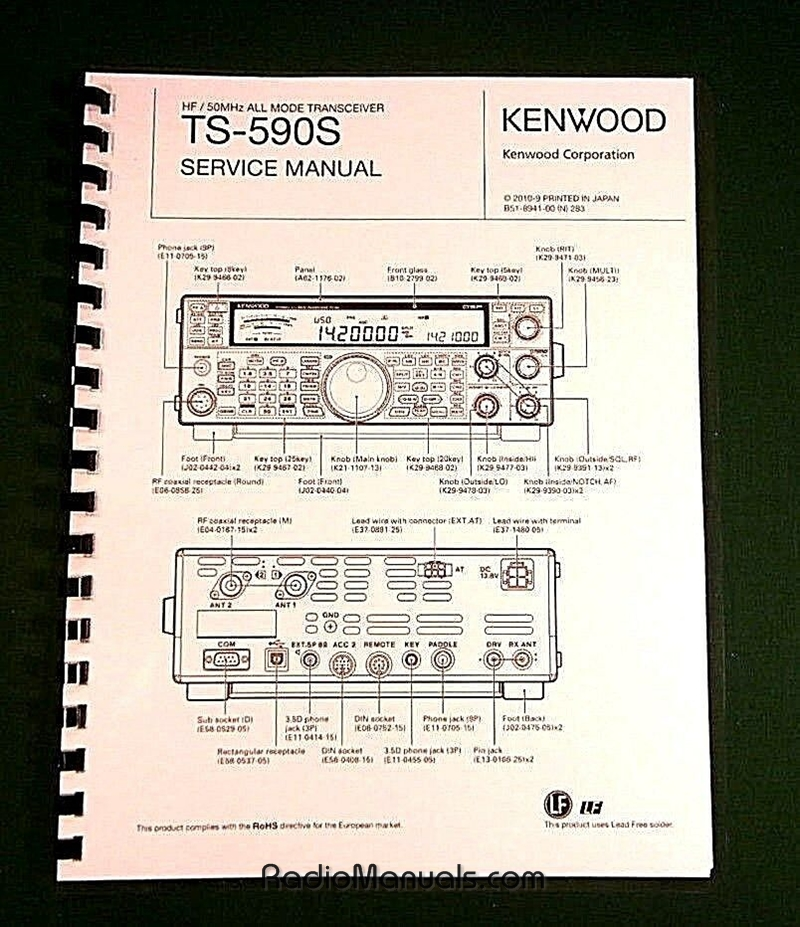 Kenwood TS-590S Service Manual