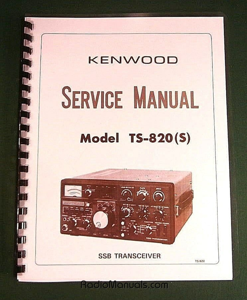 Kenwood TS-820S Service Manual