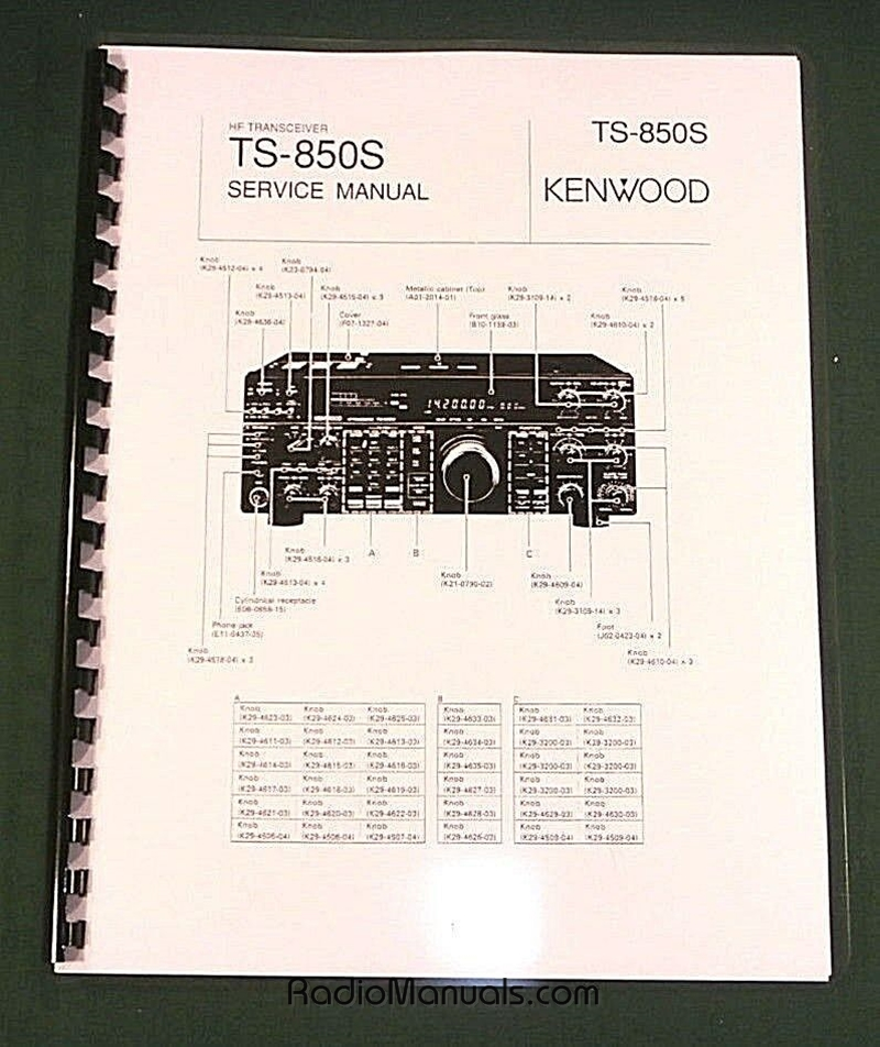 Kenwood TS-850S Service Manual