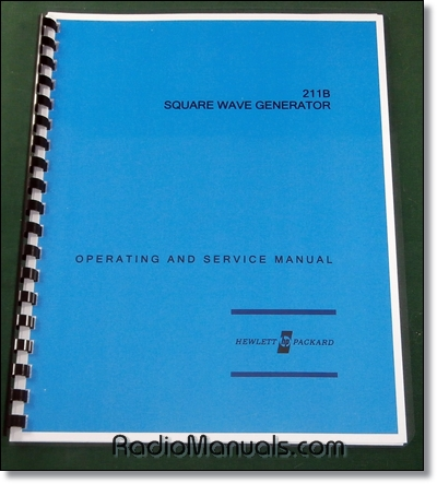 HP 211B Operating & Service Manual