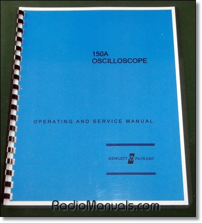 HP 150A Operation & Service Manual