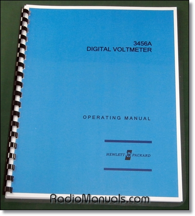 HP 3456A Operating Manual