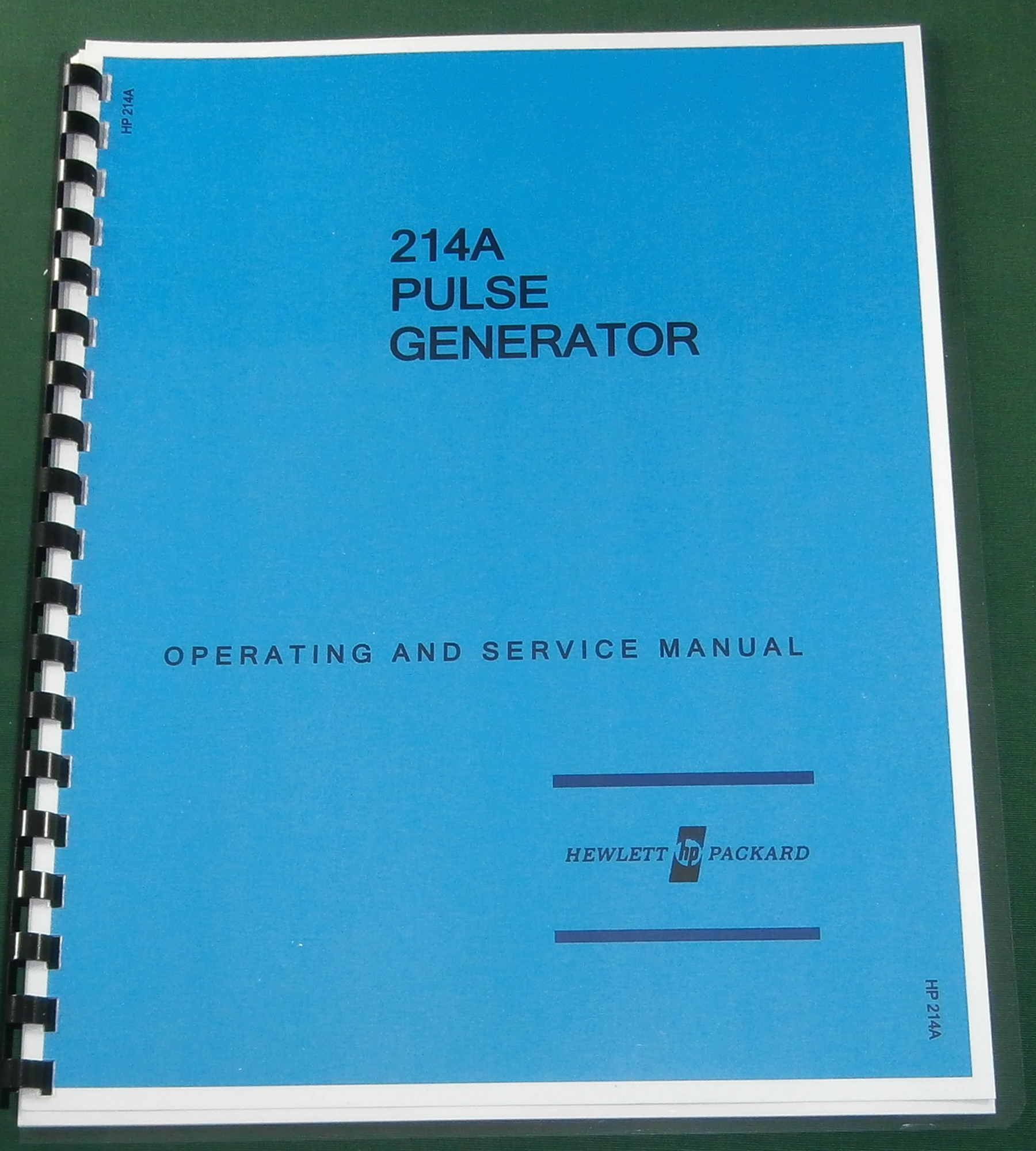 HP 214A Service & Operation Manual