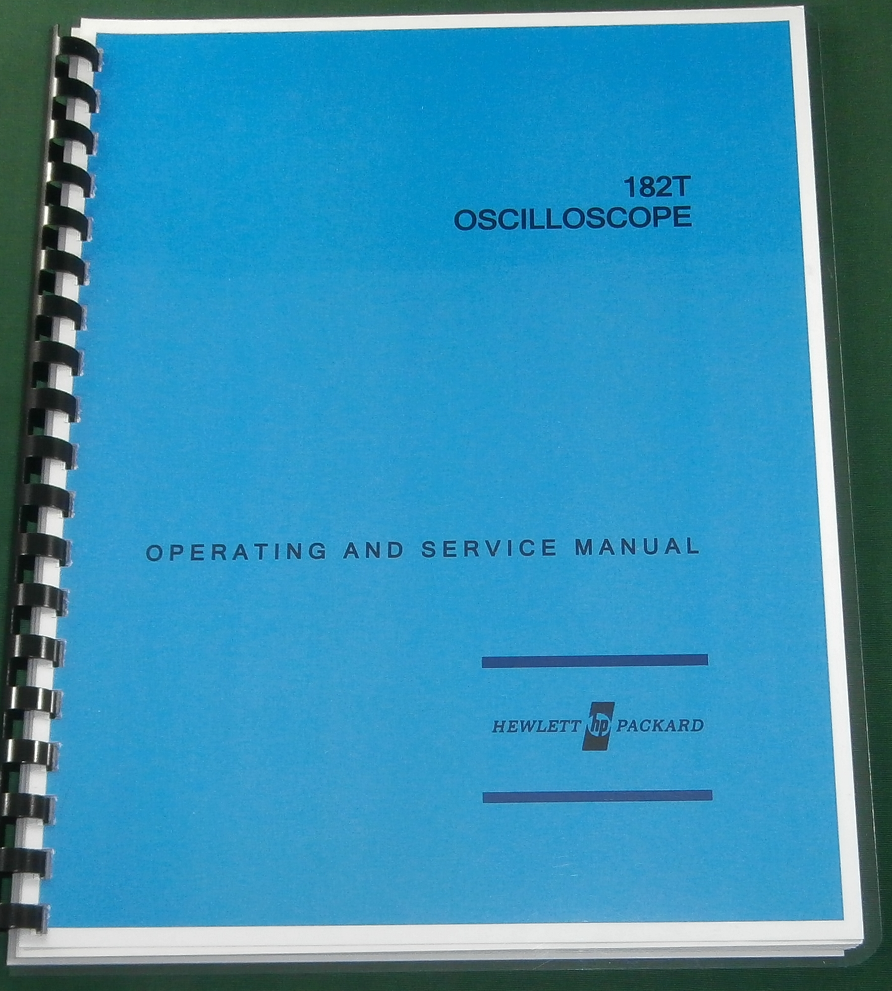 HP 182T Operating & Service Manual