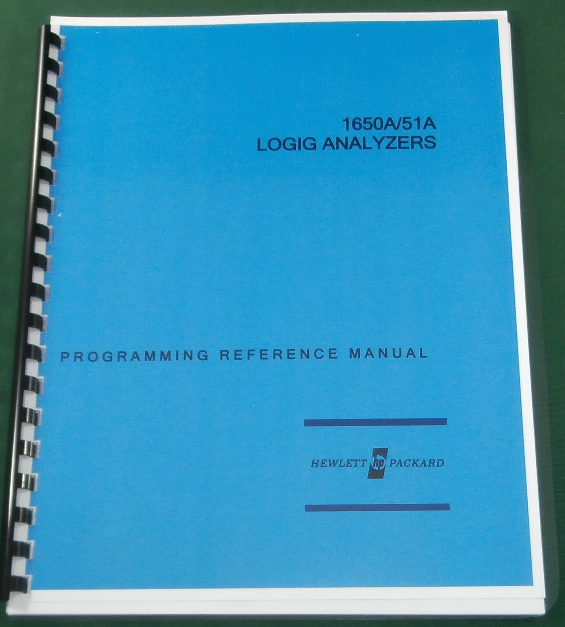 HP 1650A Programming Reference Manual