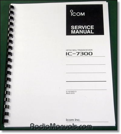 Icom IC-7300 Service Manual