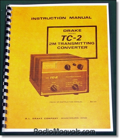 Drake TC-2 Instruction Manual
