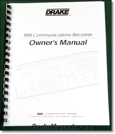 Drake R8B Instruction Manual