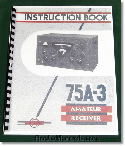 Collins 75A-3 Instruction Manual