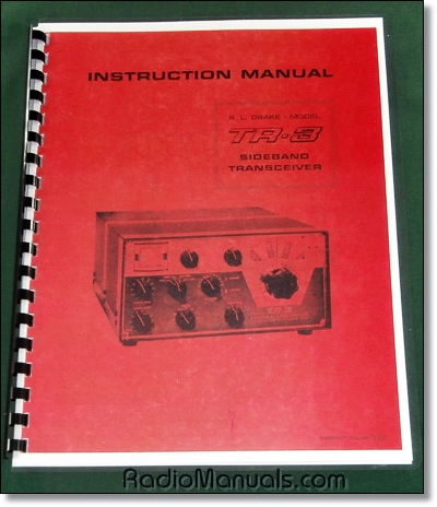 Drake TR-3 Instruction Manual
