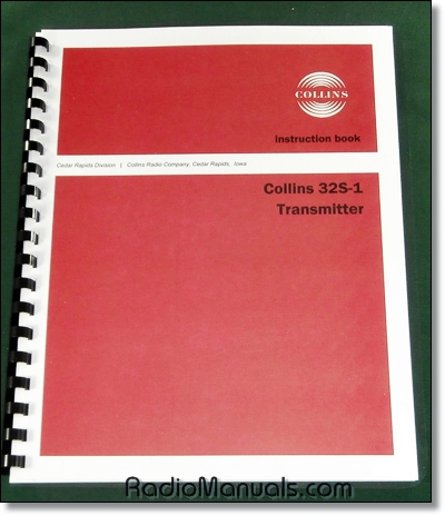 Collins 32S-1 Instruction Manual