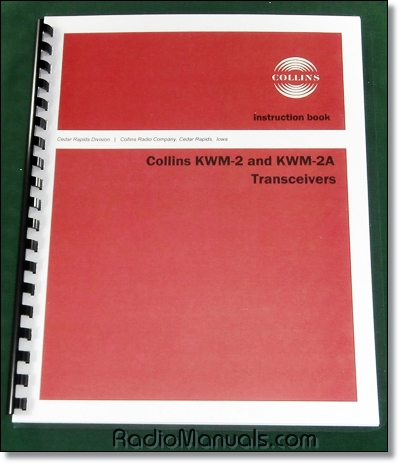 Collins KWM-2/KWM-2A Instruction manual