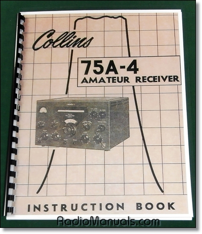 Collins 75A-4 Instruction Manual