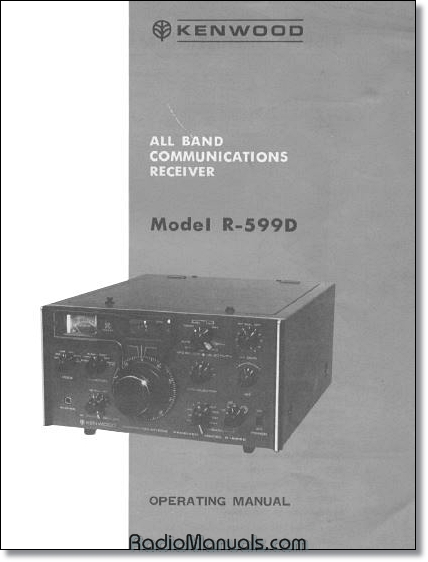 Kenwood R-599D Instruction Manual