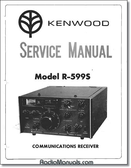 Kenwood R-599S Service Manual