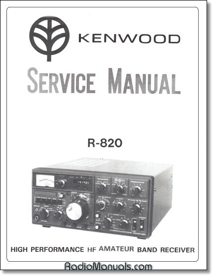 Kenwood R-820 Service Manual