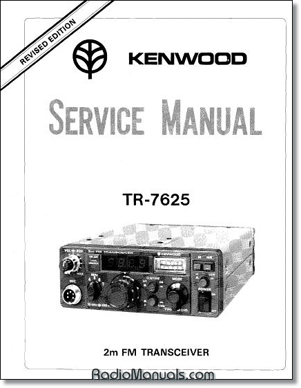 Kenwood TR-7625 Service Manual