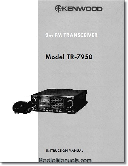 Kenwood TR-7950 Instruction Manual