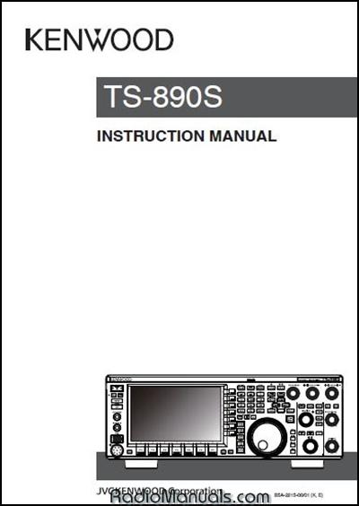 Kenwood TS-890S Instruction Manual : Ham Radio Manuals:, Ham Radio