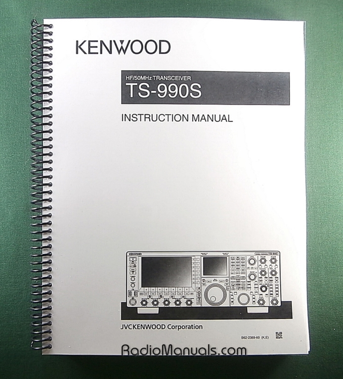 Kenwood TS-990S Instruction Manual (English)