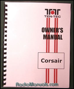 TenTec Corsair Instruction Manual