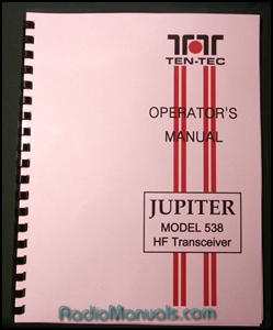 TenTec 538 Jupiter Instruction Manual