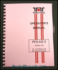 TenTec 550 Pegasus Instruction Manual