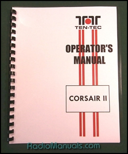 TenTec Corsair II Instruction Manual