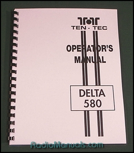 Tentec Delta 580 Operating Manual