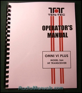 Tentec Omni VI Plus Model 564 Operator's Manual