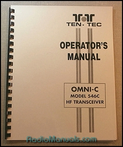 Tentec Omni-C Model 546C Operator's Manual
