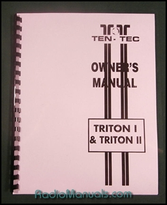 Tentec Triton I and II Operating Manual